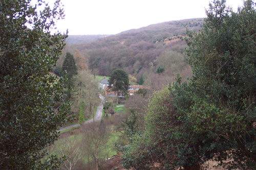 View of Holford Combe