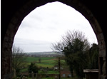 View from Charlynch church