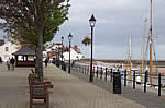 Watchet esplanade