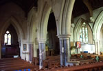 Interior of St Ethelred's